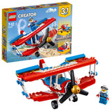LEGO Creator 3in1 Daredevil Stunt Plane Building Blocks For Kids 7 to 12 Years (200 Pcs) 31076