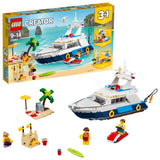 LEGO Creator 3in1 Cruising Adventures Building Blocks For Kids 9 to 14 Years (597 Pcs) 31083