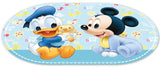 STOR OVAL OFFSET PLACEMAT READY TO PLAY MICKEY BABY PAINT POT