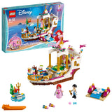 LEGO Disney Princess Ariel's Royal Celebration Boat Building Blocks For Girls 5 to 12 Years (380 Pcs) 41153