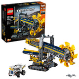 LEGO Technic Bucket Wheel Excavator Building Blocks For Boys 12 to 16 Years (3929 Pcs) 42055