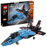 LEGO Technic Race Jet Aircraft Building Blocks For Boys 10 to 16 Years (1151 Pcs) 42066