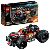 LEGO Technic Bash Racer Car Building Blocks For Boys 7 to 14 Years (139 Pcs) 42073