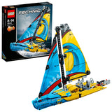 LEGO Technic Racing Yacht Building Blocks For Boys 8 to 14 Years (330 Pcs) 42074
