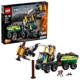 LEGO Technic Forest Machine Building Blocks For Boys 10 to 16 Years (1003 Pcs) 42080