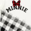 Minnie Girls Tshirt Checks design