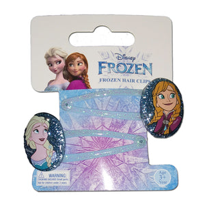 Disney Frozen Hair Accessories Set 2 Pcs Hair Clips With Resin Charm