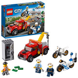 LEGO City Police Tow Truck Building Blocks For Kids 5 to 12 Years ( 144 Pcs) 60137