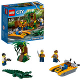 LEGO City Jungle Starter  Building Blocks For Kids 5 to 12 Years ( 88 Pcs) 60157