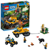 LEGO City Jungle Halftrack Mission Building Blocks For Kids 6 to 12 Years (378 Pcs) 60159