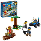 LEGO City Police Mountain Fugitives  Building Blocks For Kids 5 to 12 Years (88 Pcs) 60171