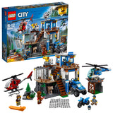 LEGO City Police Mountain Headquarters Building Blocks For Kids 6 to 12 Years ( 663 Pcs) 60174