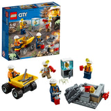 LEGO City Mining Team  Building Blocks For Kids 5 to 12 Years (82 Pcs) 60184