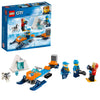 LEGO City Arctic Exploration Team Building Blocks For Kids 5 to 12 Years (70 Pcs) 60191