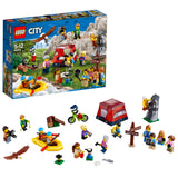 LEGO City People Pack Outdoor Adventures Building Blocks For Kids 5 to 12 Years (164 Pcs) 60202