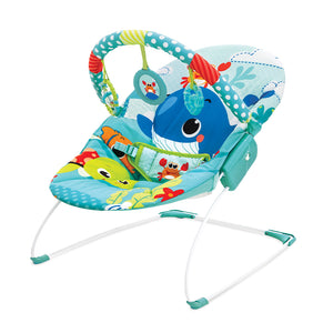 Mastela Baby Toddlers to Newborn Musical Chair Rocker and Bouncer (Green)