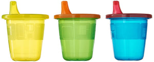 First Years Take and Toss Spill Proof Cups 7oz 7 Pieces Value Pack (Multicolor)