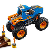 LEGO City Vehicles Monster Truck Building Blocks For Kids 5 to 12 Years (192 Pcs) 60180