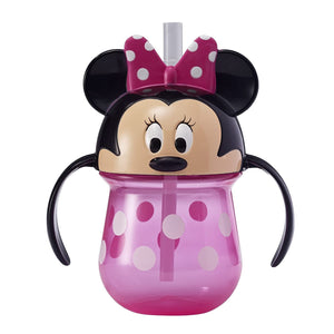 First Years Disney Baby Trainer Straw Cup with Handles (Multi)