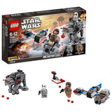 Lego Ski Speeder™ vs. First Order Walker™ Mic