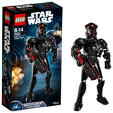 LEGO Star Wars Elite Tie Fighter Pilot Building Blocks For Kids 8 to 14 Years (94 Pcs) 75526