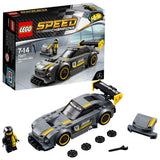LEGO Speed Champions Mercedes-AMG GT3 Building Blocks Car For Kids 7 to 14 Years (196 Pcs) 75877