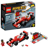 LEGO Speed Champions Scuderia Ferrari SF16-H Building Blocks Car For Kids 7 to 14 Years (184 Pcs) 75879