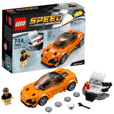 LEGO Speed Champions McLaren 720S Building Blocks Car For Kids 7 to 14 Years (161 Pcs) 75880