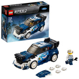 LEGO Speed Champions Ford Fiesta M-Sport WRC Building Blocks Car For Kids 7 to 14 Years (203 Pcs) 75885