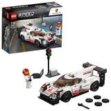 LEGO Speed Champions Porsche 919 Hybrid Building Blocks Car For Kids 7 to 14 Years (163 Pcs) 75887