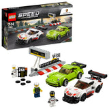 Lego Porsche 911 RSR and 911 Turbo 3.0