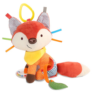 Skip Hop Bandana Buddies Activity Toy Fox, Multi Color