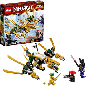 LEGO NINJAGO The Golden Dragon Building Blocks for Kids (171 Pcs)70666
