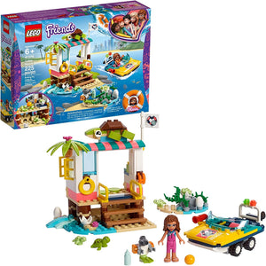 LEGO Friends Turtles Rescue Mission 41376 Rescue Building Kit with Olivia minifigure and toy turtles