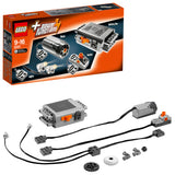 LEGO Technic Power Functions Motor Set Building Blocks For Boys 9 to 16 Years (10 Pcs) 8293