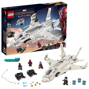LEGO Marvel Spider-Man Away From Home: Stark Jet and The Drone Attack 76130 Construction Kit