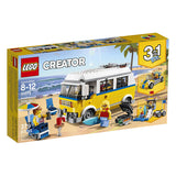LEGO Creator 3in1 Sunshine Surfer Van Building Blocks For Kids 8 to 12 Years (379 Pcs) 31079