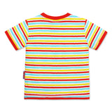Mickey Boys Tshirt Stripes