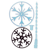 Disney Frozen Bubble Maker, Skipping Rope & Snowflake Flying Disc Toys Combo Set Multicolor