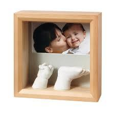 Baby Art Photo Sculpture Frame Honey, Multicolor