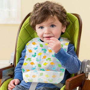 Summer  Keep Me Clean Disposable bibs( 20 pk) (Multicolor)