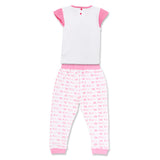Minnie Girls Pyjama Set Nightwear Sleepwear Lovely Little Lady