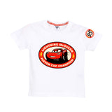 Disney Lightning Mc Queen Car Boys Tshirt