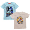 Marvel Captain America Boys Tshirt Mickey Boys Tshirt (Pack Of 2)