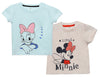 Disney Daisy Minnie Baby Girls TShirts Combo (Pack Of 2)