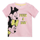 Disney Winnie The Pooh Mickey & Minnie Baby Girls TShirts Combo (Pack Of 2)
