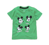 Mickey Four Qute Faces Baby Boys Tshirt