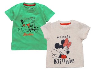 Disney Winnie The Pooh Minnie Baby Girls TShirts Combo (Pack Of 2)