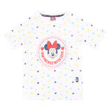 Disney Minnie Girls Tshirt Jam Packed With Love