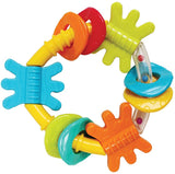 Playgro Triangle Teether 2 Asst New Design